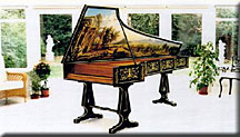 Long Italian Harpsichord